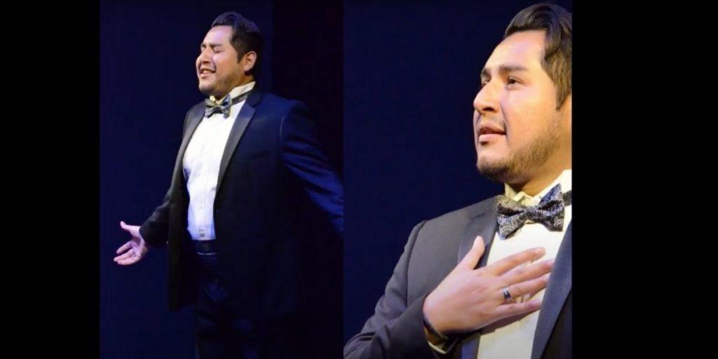 Cantante exitoso de ópera agradece a su madre, trabajadora del hogar