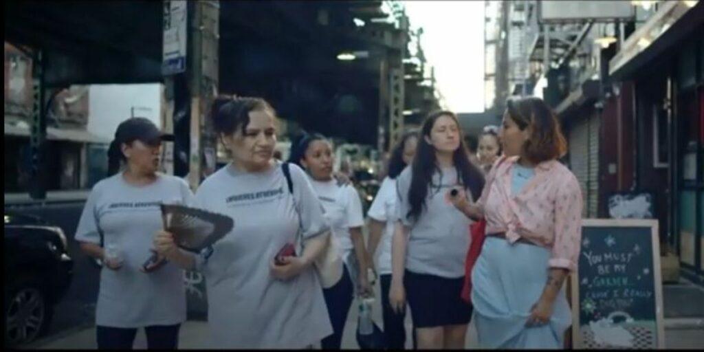 Trabajadoras del hogar debutan en video de cantante Ana Tijoux